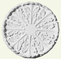 Regency Acanthus Leaf with Radials Ceiling Rose