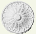 Adam Circular Spray Ceiling Rose