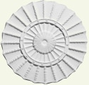 Large Circuit Fan Ceiling Rose