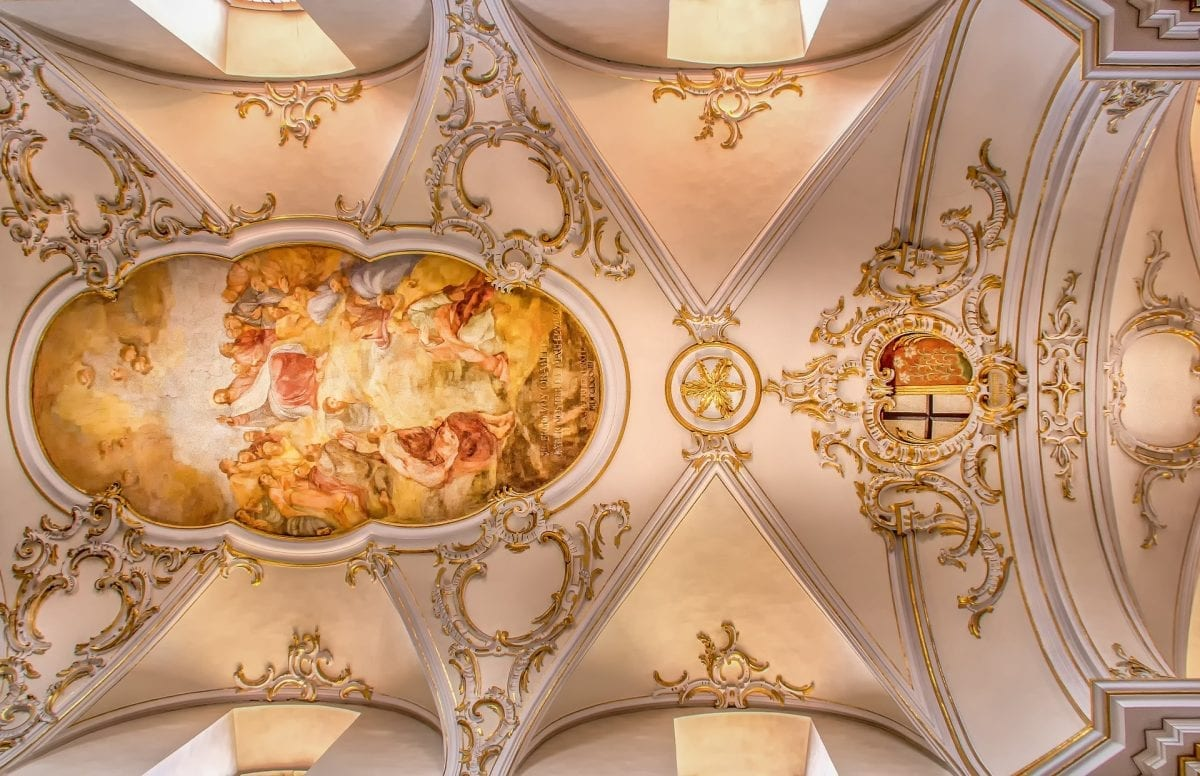 Elaborate Baroque Ceiling