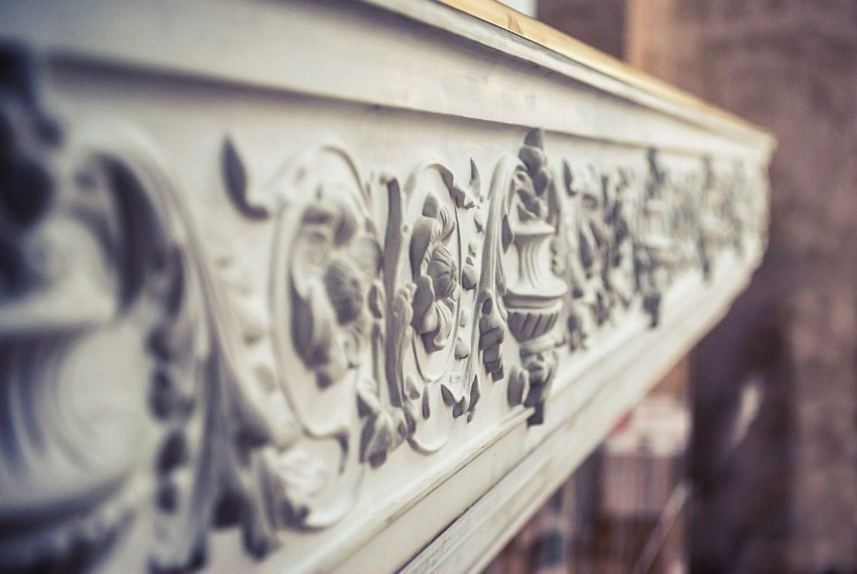 beautiful stucco moulding