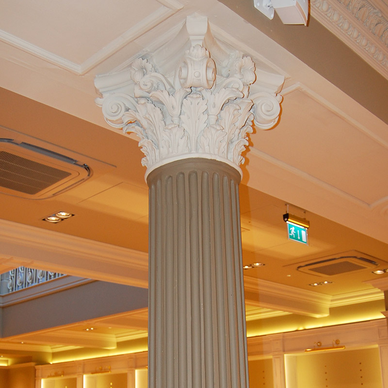 Column Restoration Work
