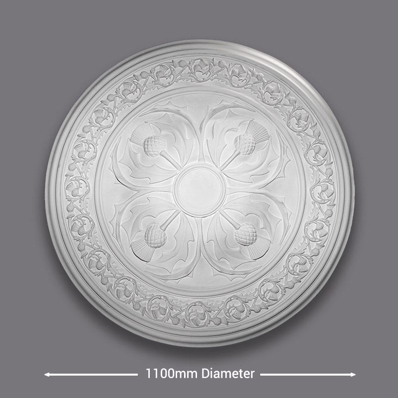 Large Thistle Ceiling Rose