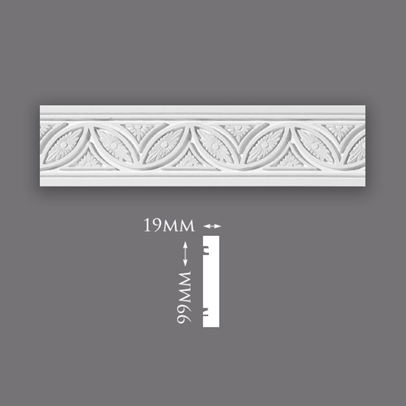 Small Plain Ceiling Rose